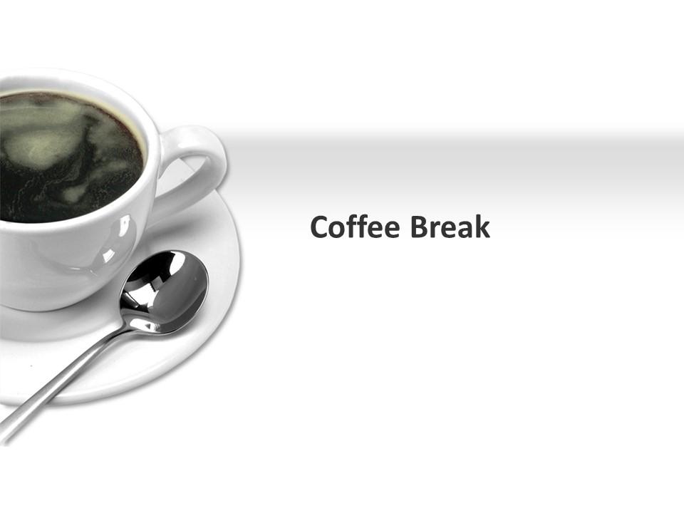 餐饮美食很独特的咖啡商务PPT图表