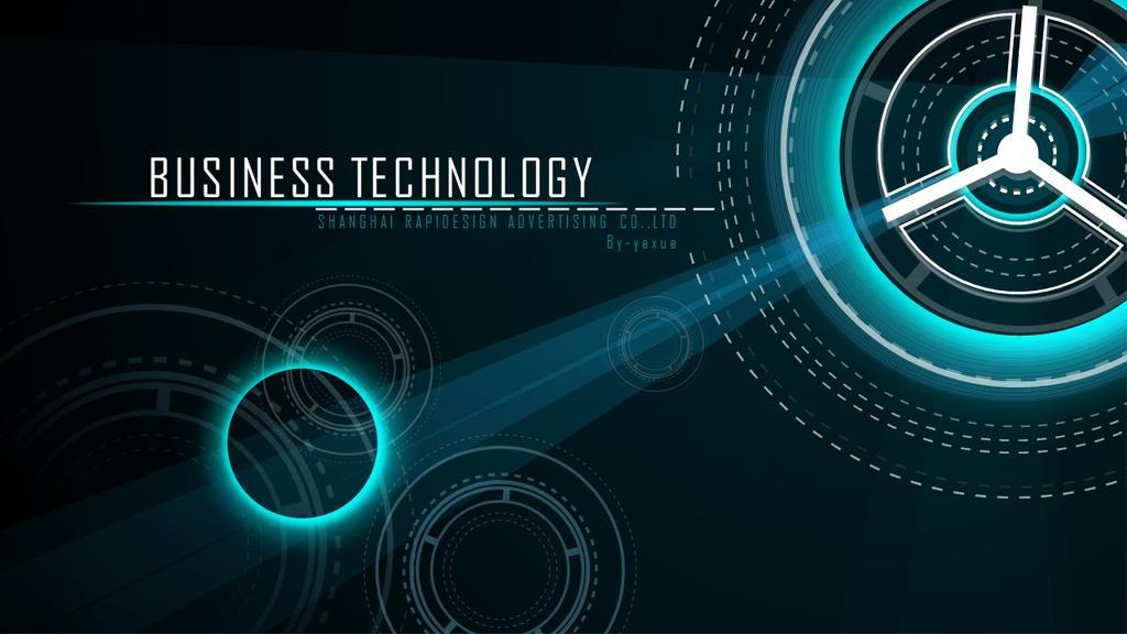 科技风工作汇报年终总结工作计划商业企划述职报告PPT模板