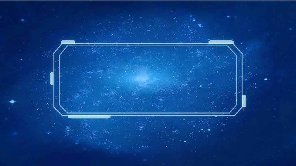 炫酷蓝色科技感商务模板PPT模板